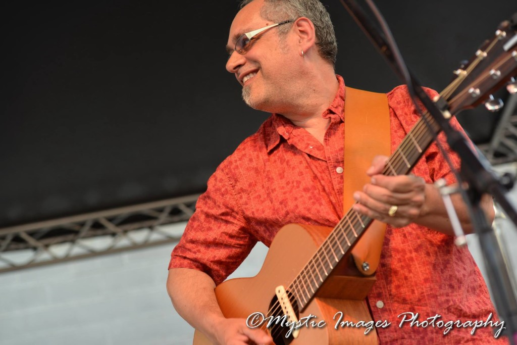 dave lenef at back lot bash - june 2014
